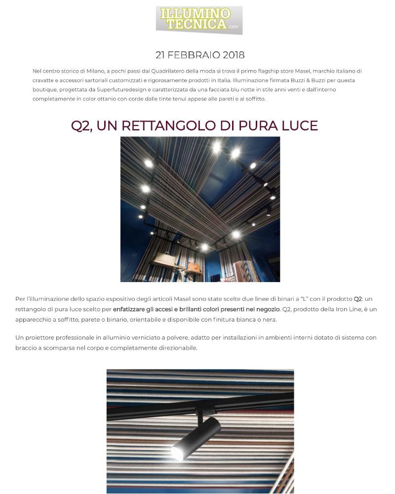 Illuminotecnica - 21/2/2018