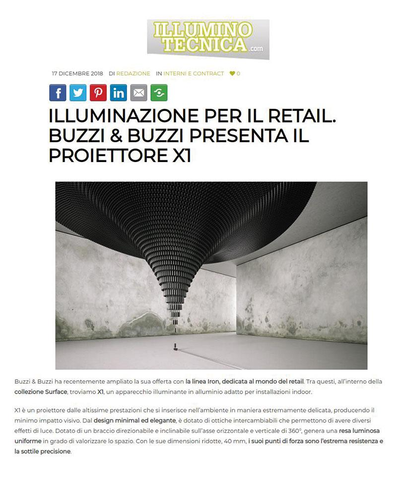 Illuminotecnica - 17/12/2018