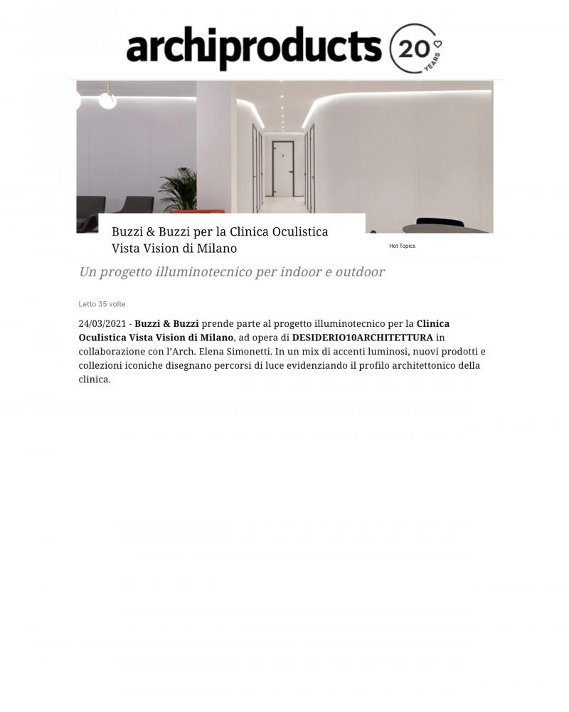 Archiproducts - 24/3/2021
