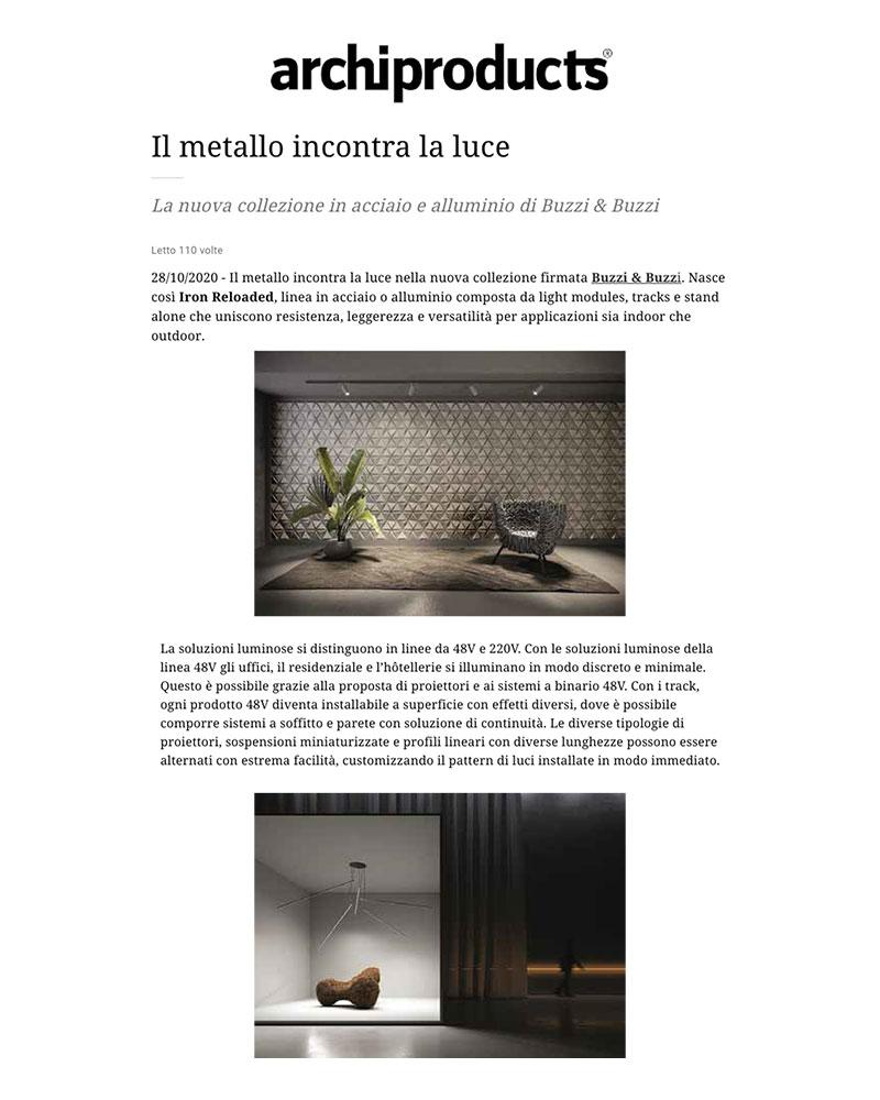 Archiproducts - 28/10/2020