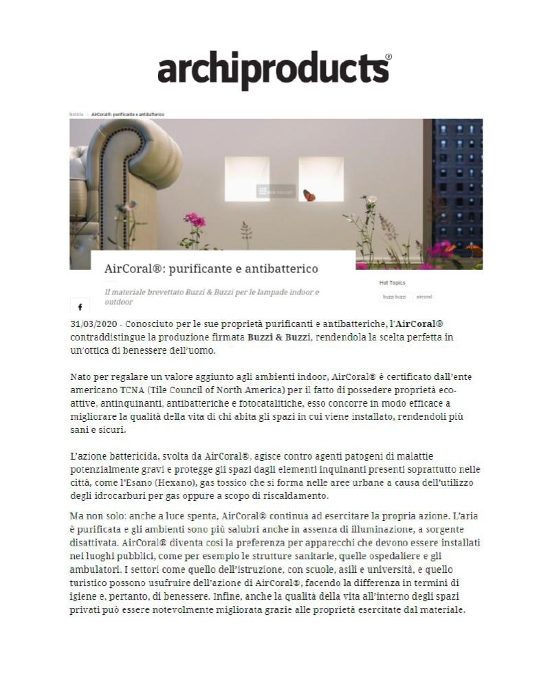 Archiproduct - 31/3/2020