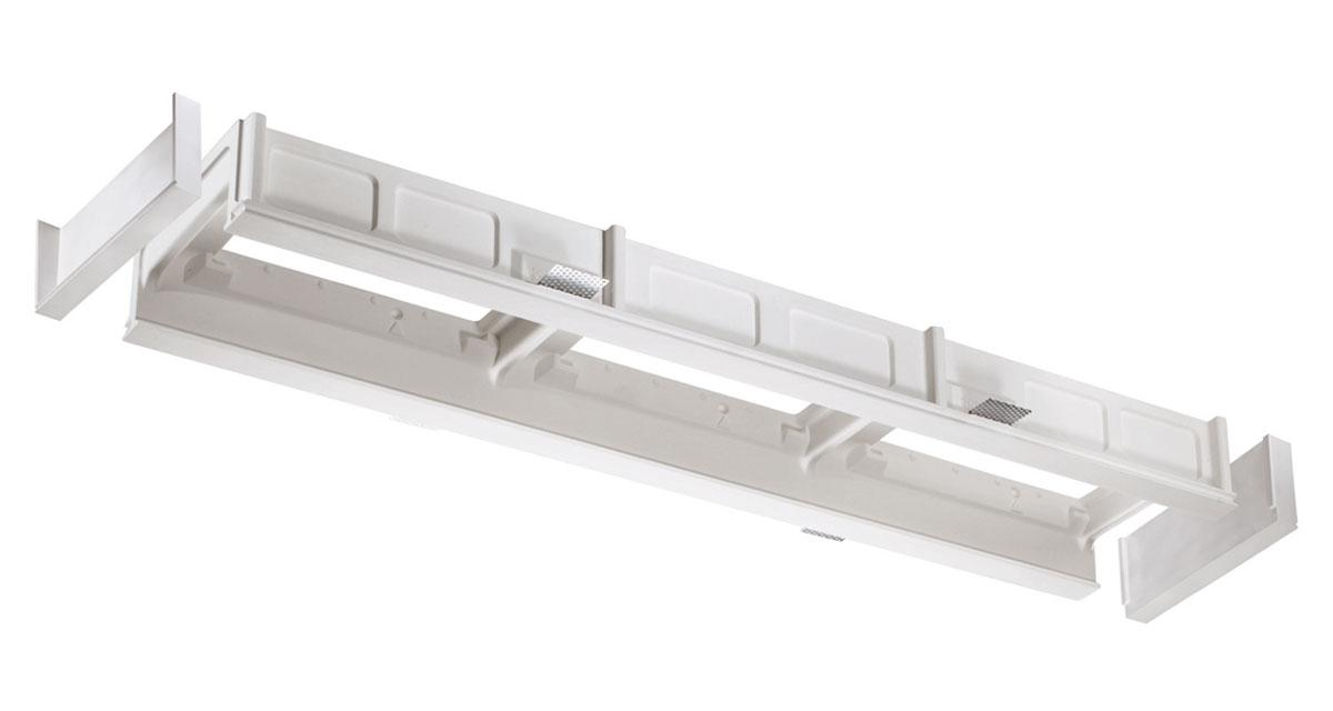 MOMO | Modular recessed lighting system for continuous 175 mm-wide lines of light, with fixed or adjustable light sources