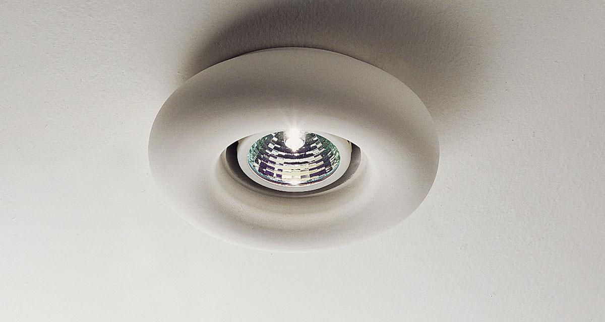 TELESCOPIC | Semi-recessed downlight available in various shapes and dimensions from 125 to 186 mm