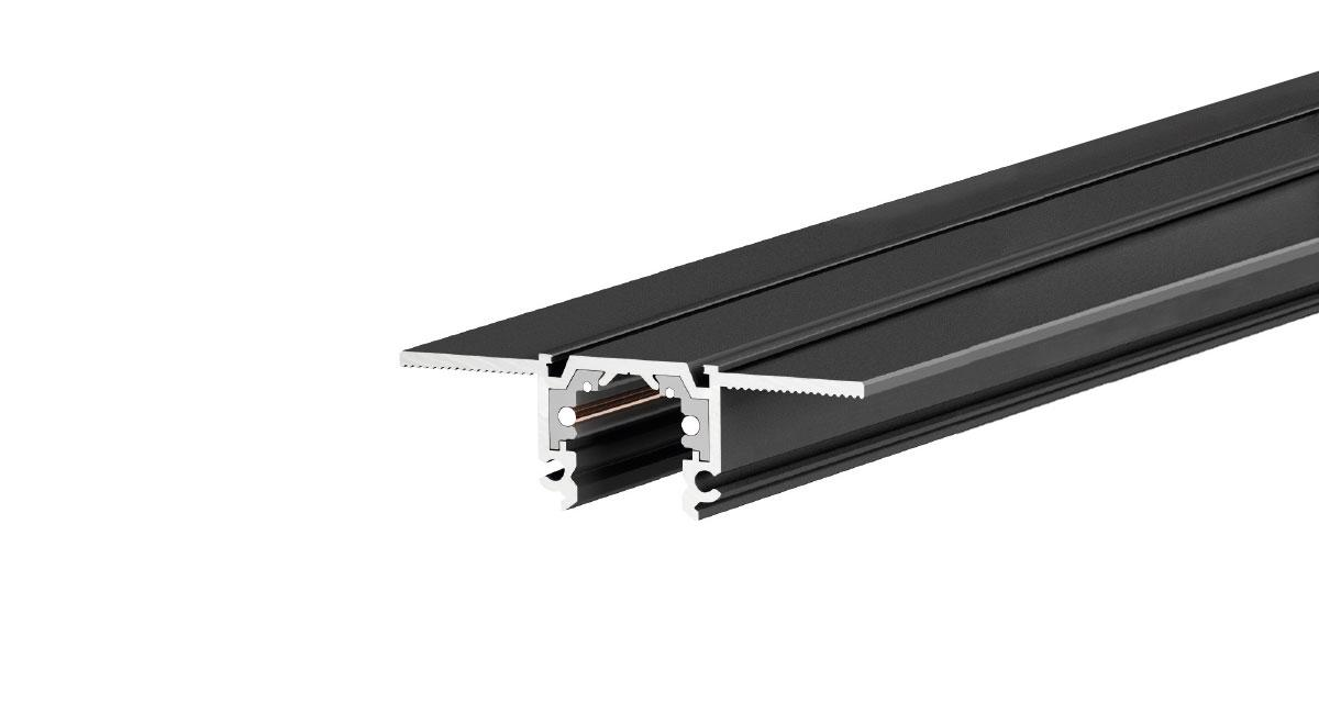 N-INSIDE | 50 x 15 mmlighting system for interiors for recessed installation