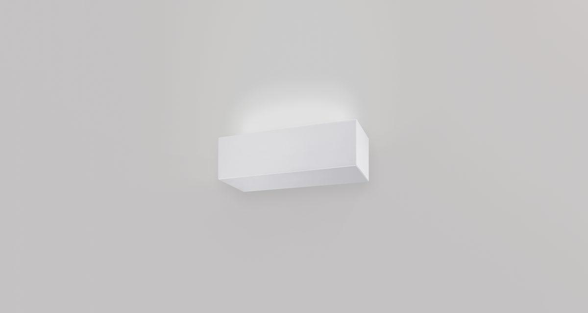 PIPEDINO INDIRECT | 250 mm wall luminaire, indirect light