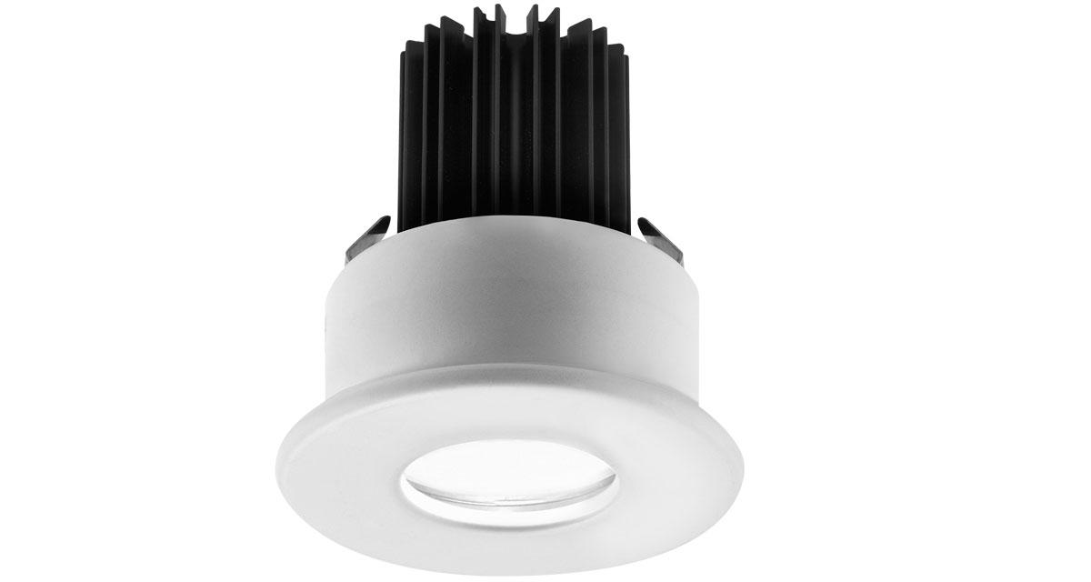 H2NOT | Ø 85 mm round recessed outdoor luminaire