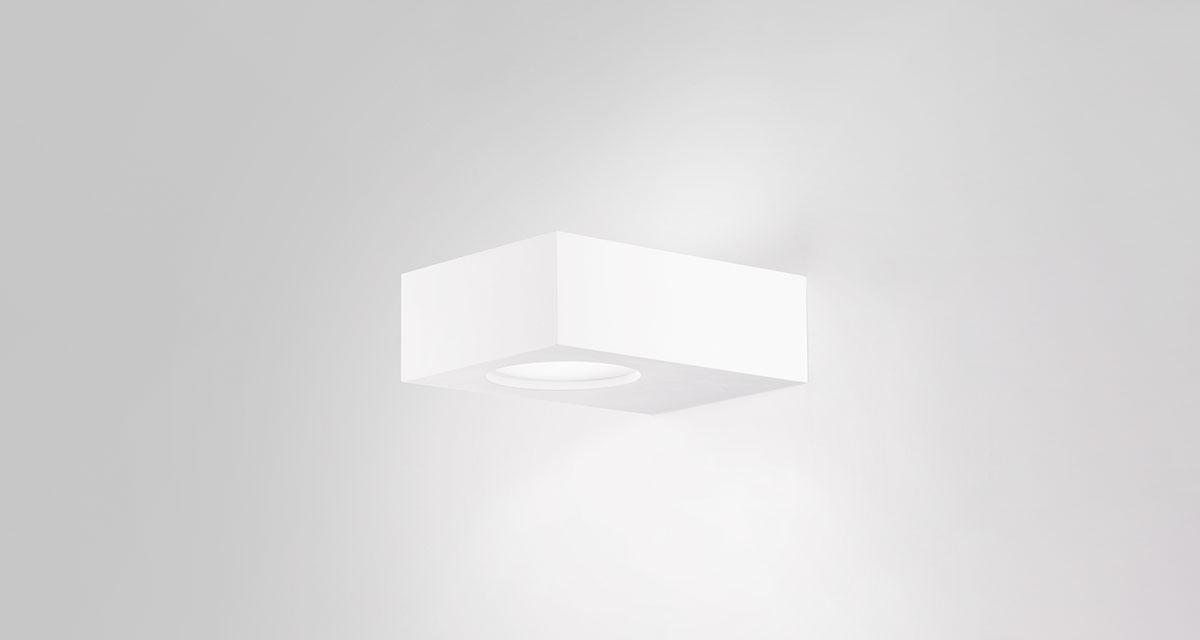LIGHT BOX | 420 mm mono or bi-emission wall light projector, direct or indirect light